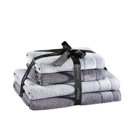 Vossen FROTTIERSET 4-TEILIG Handtuchset 2x Handtuch 2x Duschtuch [XXXLShop]