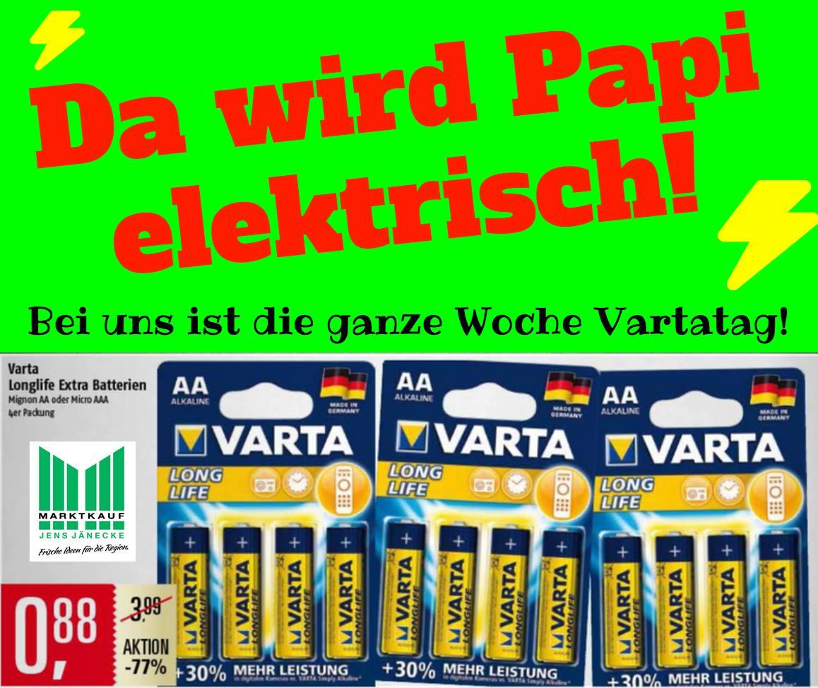 LOKAL ( Adendorf / Lüneburg ) - VARTA AA / AAA Batterien (4er Pack)
