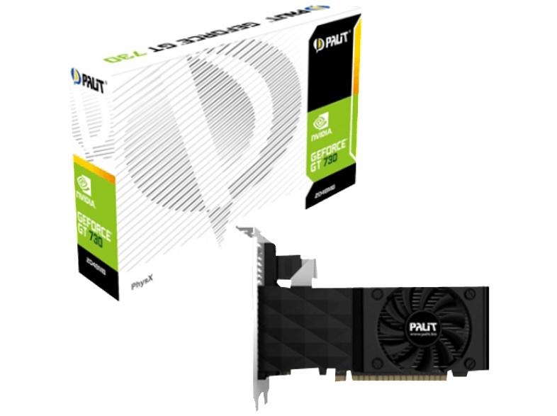 [Media Markt] Palit NVIDIA GT730 GeForce Grafikkarte (PCI-e, 2GB GDDR3 Speicher, VGA, DVI, HDMI 1 GPU, 128bit)