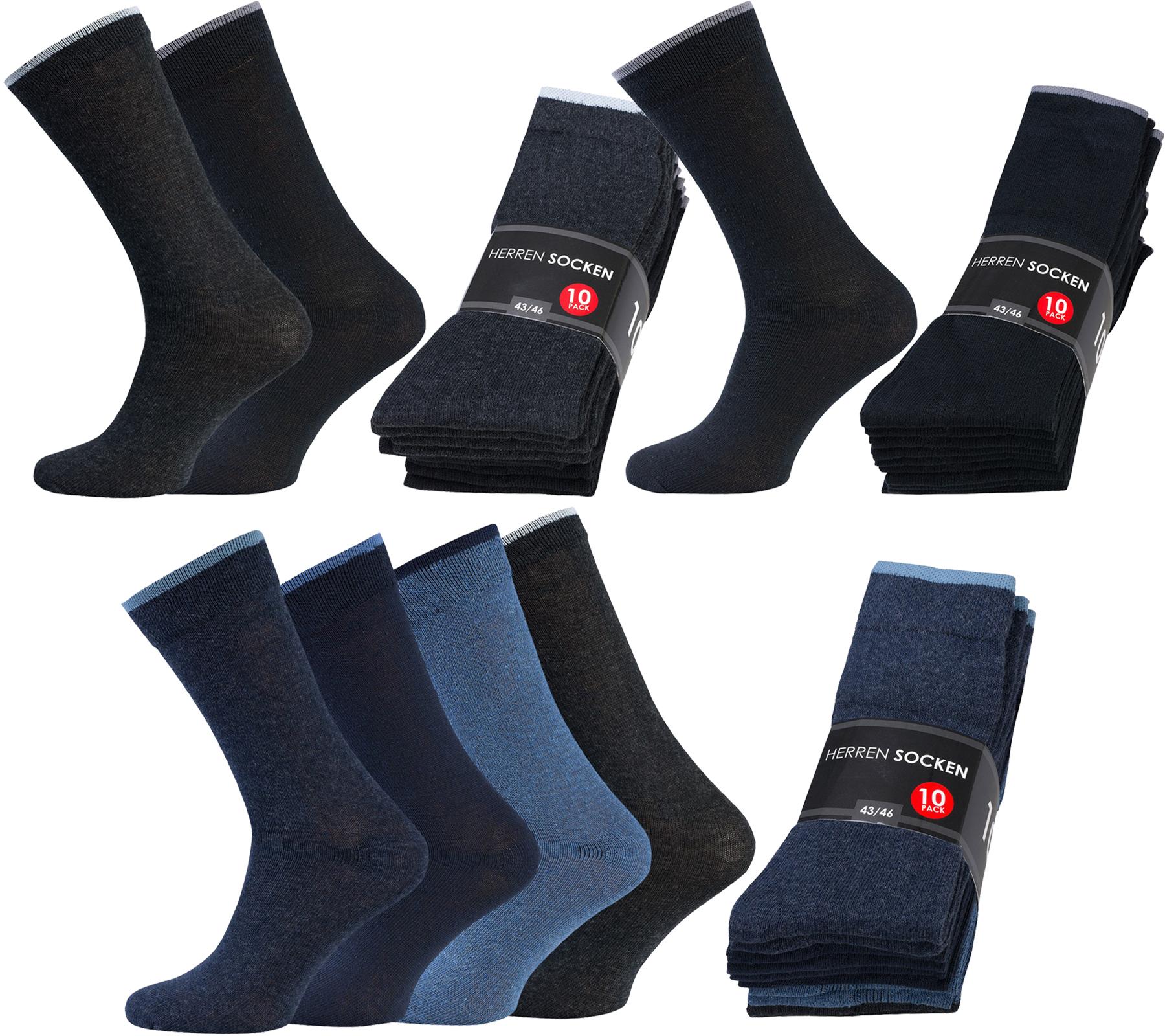 10 Paar Business-Socken für 4,99€ statt 24,99€ bei Outlet46