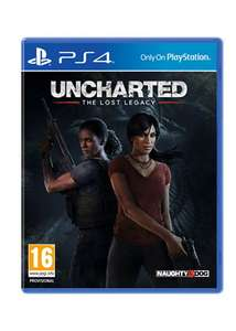 Uncharted: The Lost Legacy inkl. Jak and Daxter: The Precursor Legacy (PS4) für 28,11€ inkl. VSK  (Base.com)