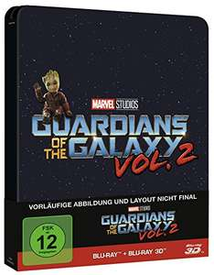 Update: Guardians of the Galaxy Vol. 2 (3D Steelbook) vorbestellen @Thalia [App]