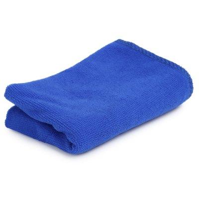Microfaser Tuch in blau - 30 cm x 70 cm -> für 9 CENT inklusive Versand