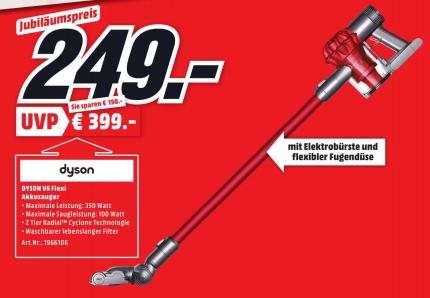 [MEDIAMARKT] Dyson V6 Flexi  [Lokal Neustadt a.d.Weinstr.]