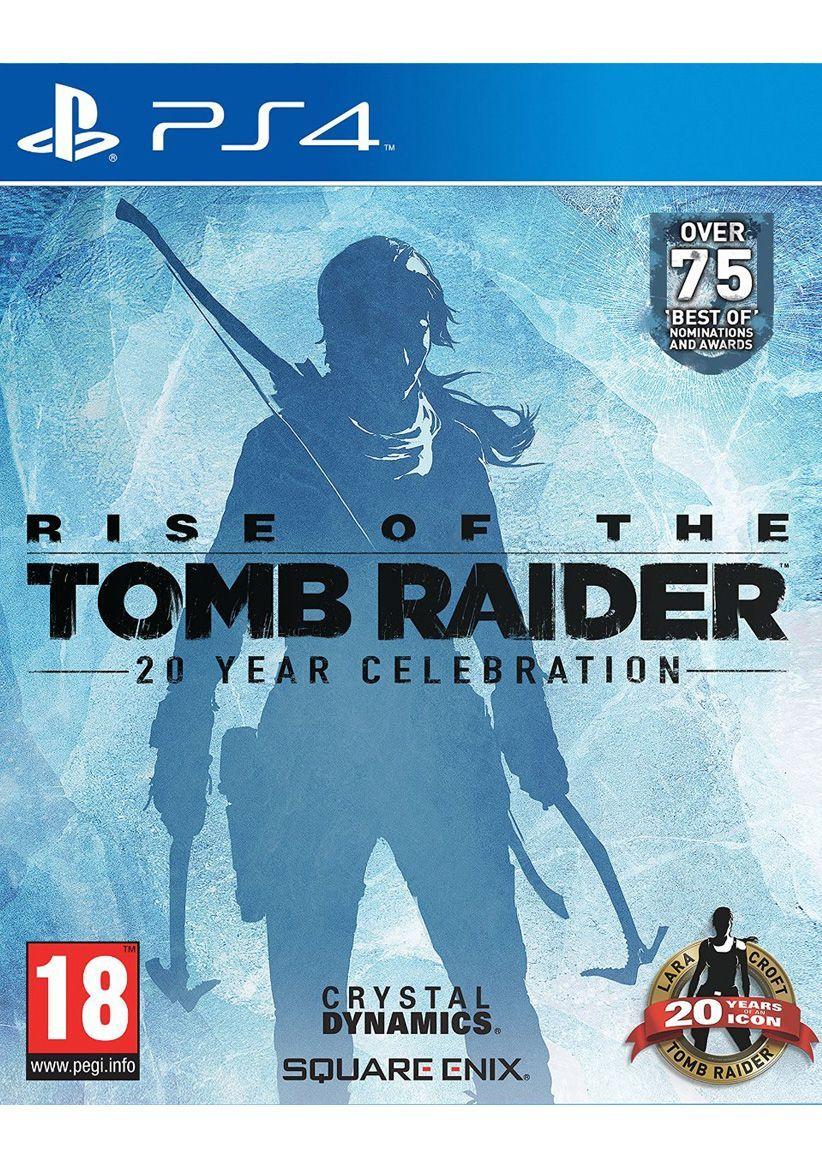 Rise of the Tomb Raider 20-Jähriges Jubiläum (PS4) für 25,88€