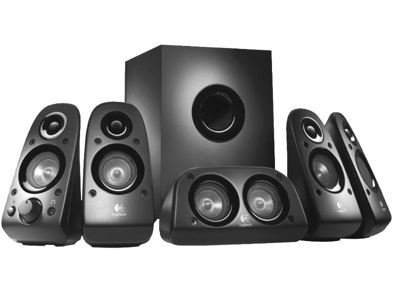 [Mediamarkt] Lautsprecher Logitech Z506, schwarz,für PC oder TV, 5.1 Soundsystem für 49,-€ Versankostenfrei