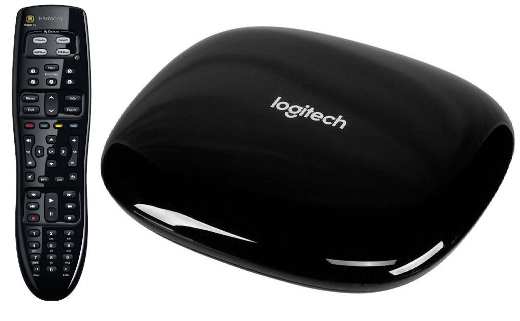 Universal-Fernbedienung Logitech Harmony 350,Control, lernfähig, bis zu 8 Geräte steuerbar für 25,-€***Logitech Harmony Hub, USB, Schwarz für 66,-€ [Mediamarkt]