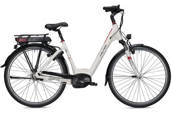 E-Bike FALTER E 9.5 RT Weiß 500Wh