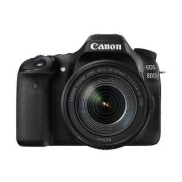 Bestpreis Canon 80D + 18-135mm IS USM Objektiv durch Kombination zweier Canon Cashbacks!