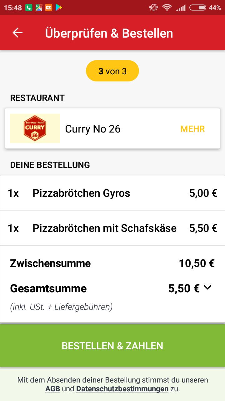 Lieferheld 5€ Rabatt bei 10€ MBW auch für Bestandskunden