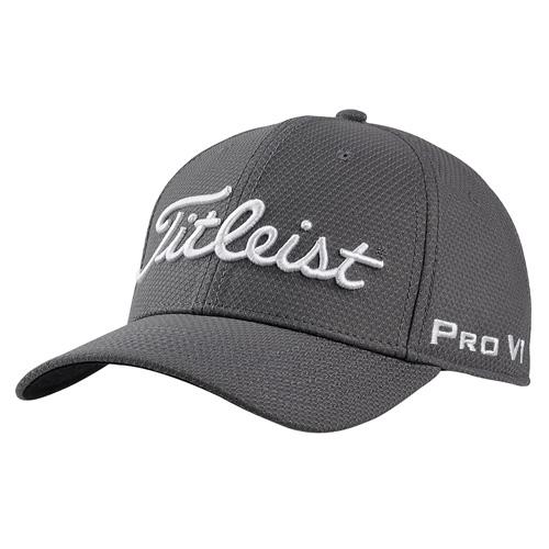 Golf Cap: Titleist Dobby Tech, alle Farben (schwarz, weiß, grau, rot, blau), Größe L/XL