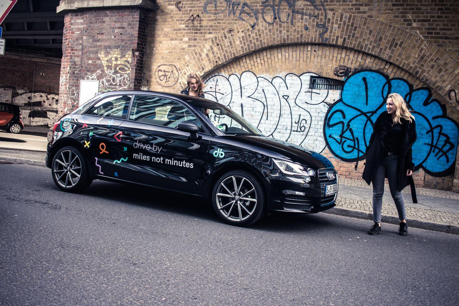 drive by Carsharing Aktion: 15 km for free zum Vatertag (nur heute gültig!)