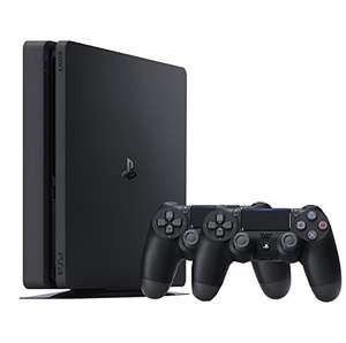 [Amazon.de] PlayStation 4 - Konsole (500GB, schwarz, slim) inkl. 2. DualShock Controller für 222€
