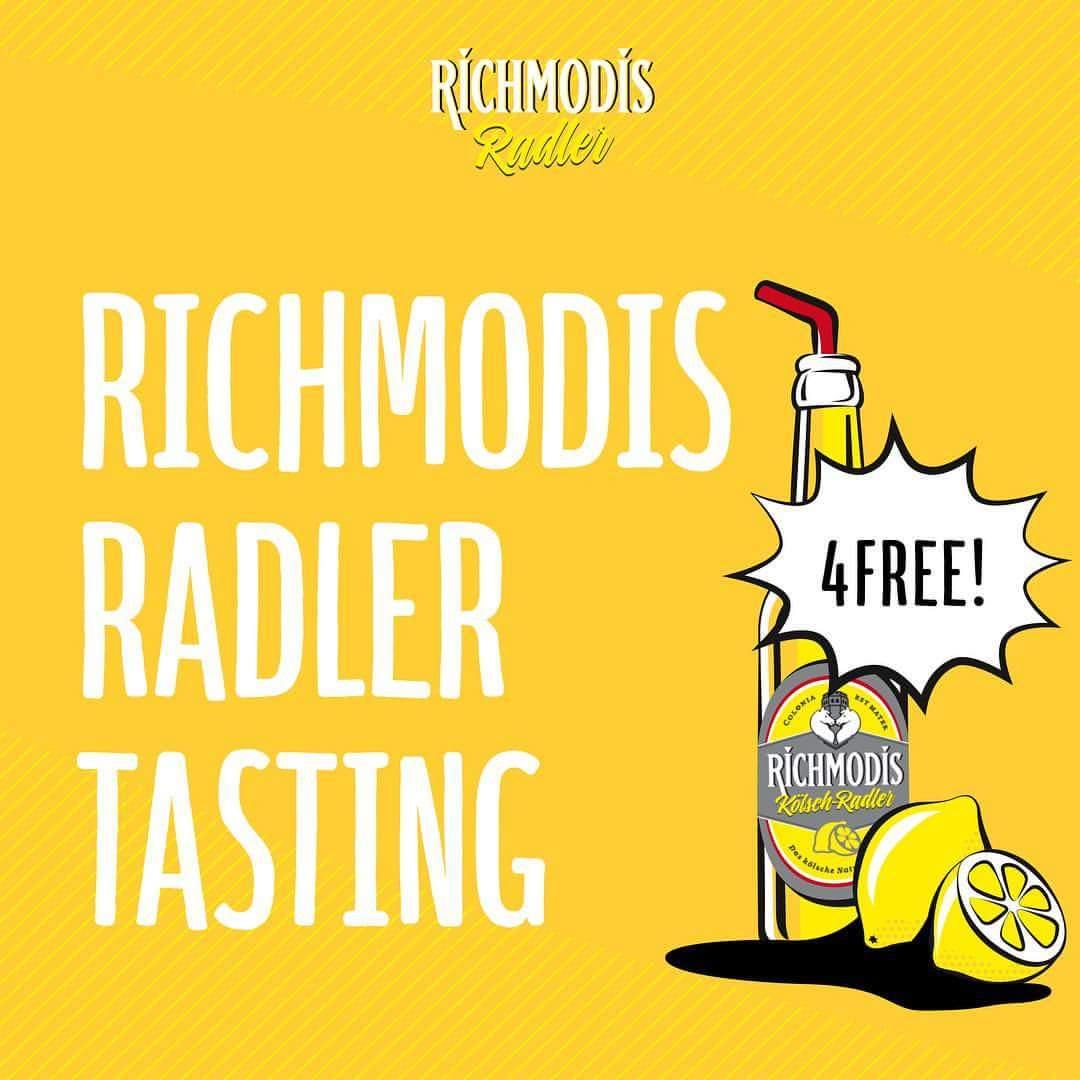 [LOKAL Bornheim] Richmodis Radler Tasting: Gratis Richmodis Radler