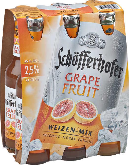Sixpack Schöfferhofer Grapefruit, Kaktusfeige @Kaufland (-Scondoo)