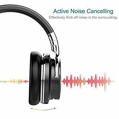 Willnorn Walker 6 drahtlose aktive Noise Cancelling Bluetooth kopfhörer mit Mikrofon, NFC, 36-Stunden Spielzeit @amazon.de