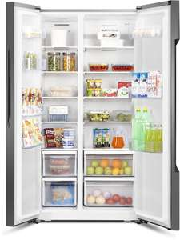Übersicht: Einige Haushaltsgeräte im Angebot - Beko Waschmaschine für 279€, LG Kühl-Gefrierkombi für 377€, Bosch Geschirrspüler für 379€ und Hisense Side-by-Side für 529€