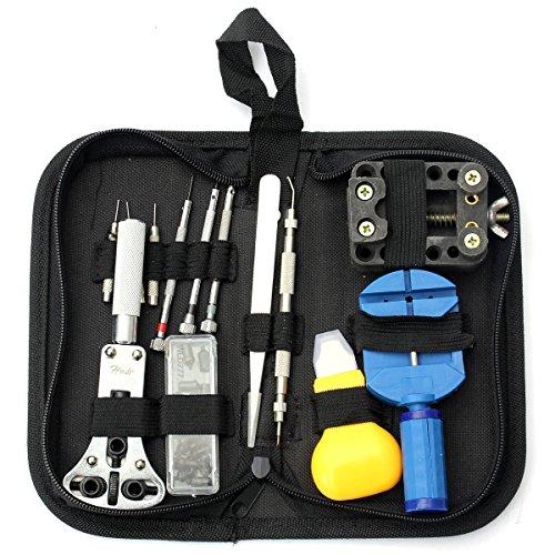 Uhrenreparatur Set Pins Opener Remover Watchmaker Professional Repair Tool Kit 30tlg.