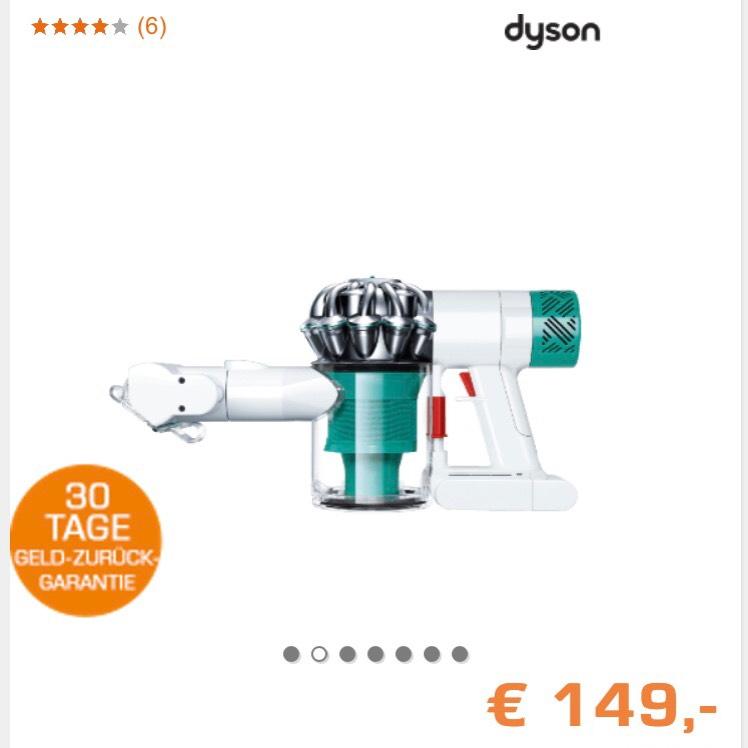 DYSON V6 mattress Matratzensauger Weiß/Petrol für 149€ inklusive Versand [Saturn]