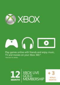 15 Monate Xbox Live Gold für 44,45€ (2,96€ pro Monat) [cdkeys]