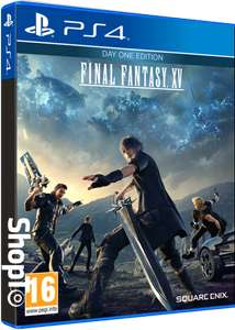 Final Fantasy XV Day One Edition + Final Fantasy XV Masamune, Saber & Gourmand DLC (Xbox One & PS4) für je 29,85€ (ShopTo)