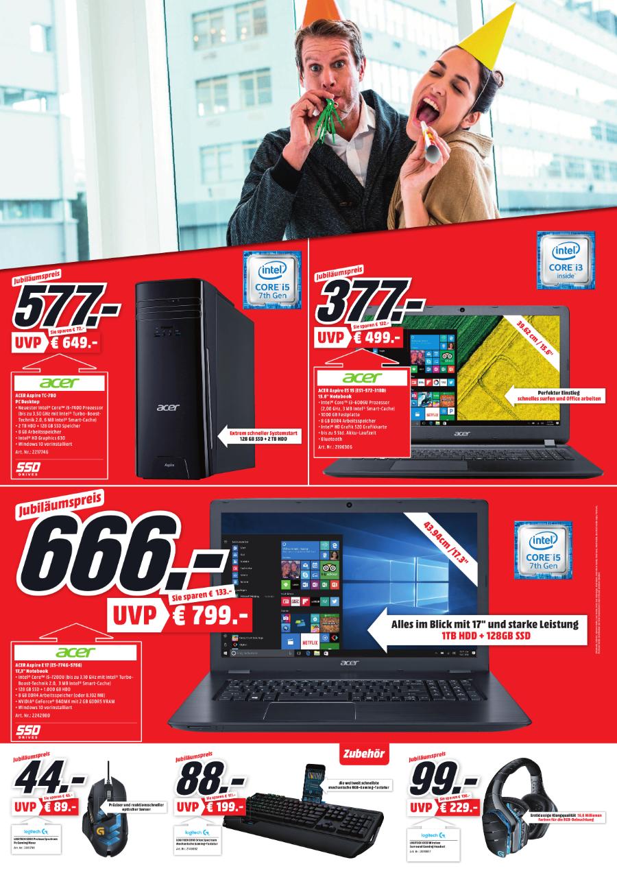 Logitech G933 Wireless Gaming Headset im Media Markt Heppenheim für 99€