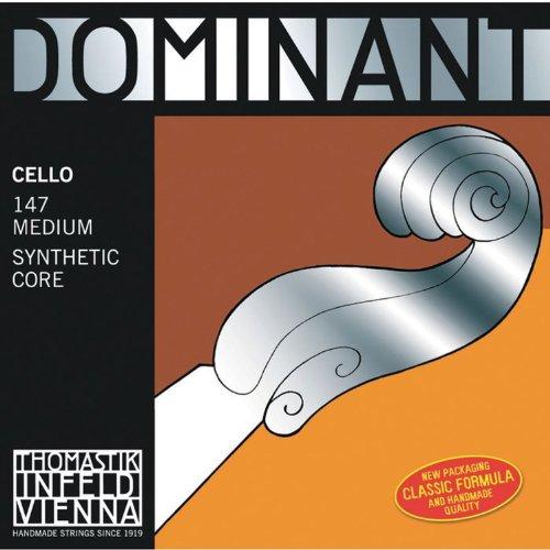Thomastik Saiten Cello Dominant Satz 147 4/4 mittel