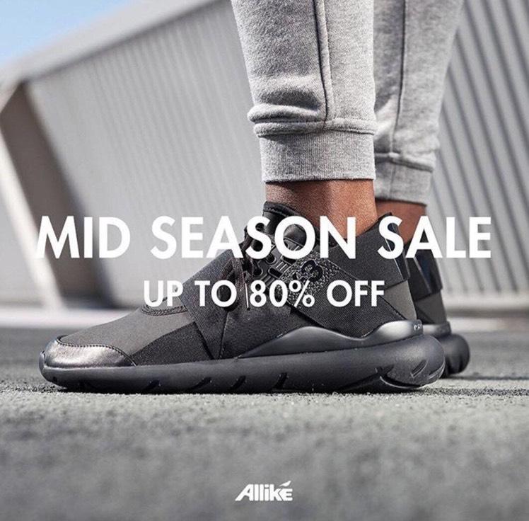 Mid Season Sale bei Alllike Store [vieles bis 80% reduziert] +20% Gutschein auf alles mit Gutschein