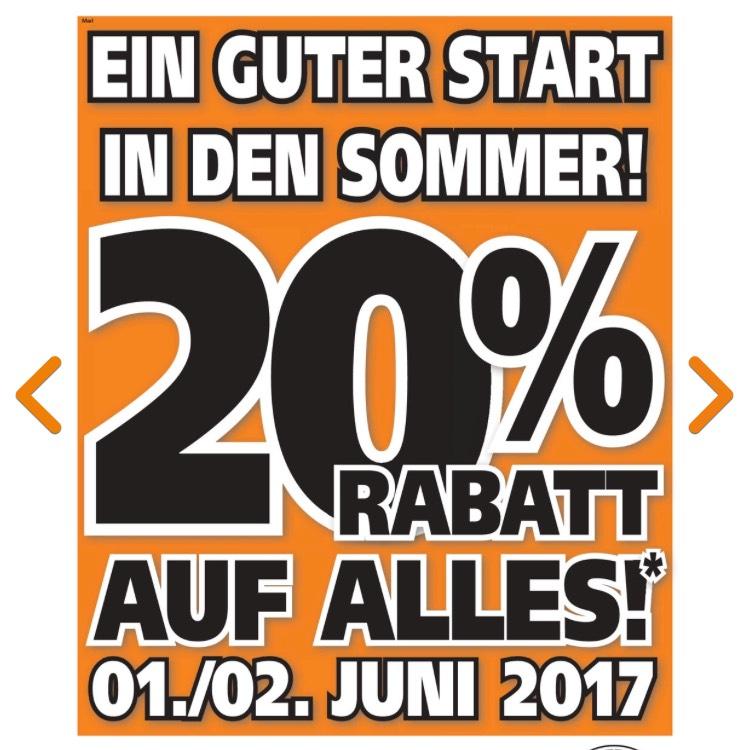 Baumarkt Regensburg globus baumarkt 20 rabatt am 1 2 06 2017 auf alles in marl