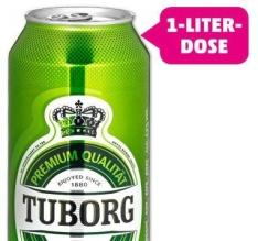 [Thomas Philipps] TUBORG Pilsener 1 Liter-Dose  für 99 Cent