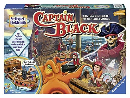 [amazon.de] Ravensburger Captain Black für 15,14 € / Queen Games Geisterburg für 12,25 €