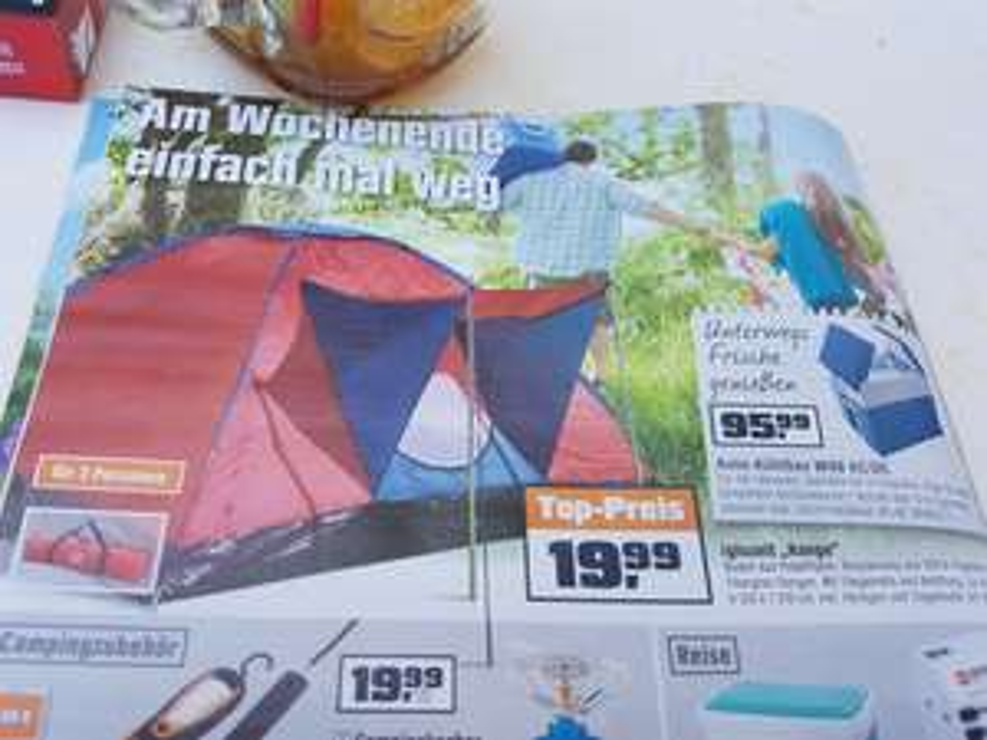 3 Personen Zelt  bei OBI
