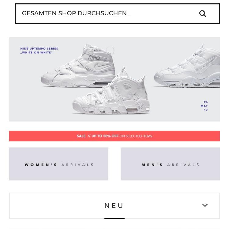 [Tint-footwear] 20% auf Alles (auch die neuen Air Max 97 uvm)