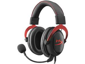 HYPERX HyperX Cloud II Gaming-Headset Schwarz/Rot