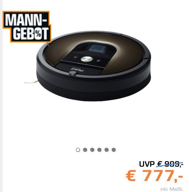 IRobot Roomba 980 bei Saturn