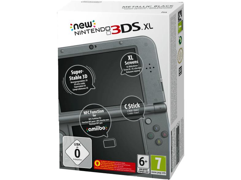 NINTENDO NEW NINTENDO 3DS XL METALLIC SCHWARZ für 139,-€ [Saturn]