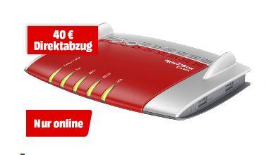 AVM FRITZ!Box 6490 Cable WLAN Router mit Integriertem Modem: Kabel 2.4 GHz, 5 GHz 1.75 GBit/s für 149,-€******AVM FRITZ!Box 6430 Cable [Kabelmodem, WLAN AC, 450 Mbit/s, 4x Ethernet maximal 1000Mbit/s, DECT] für 99,-€ [Mediamarkt]