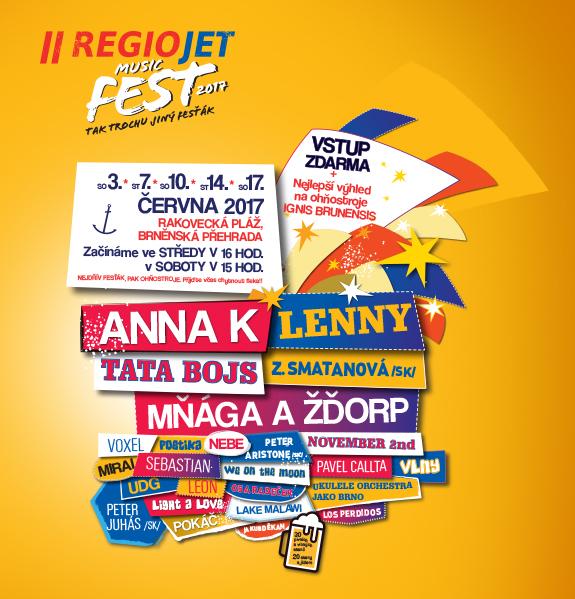 2 Wochen kostenloses Musikfestival Brünn/Tschech.