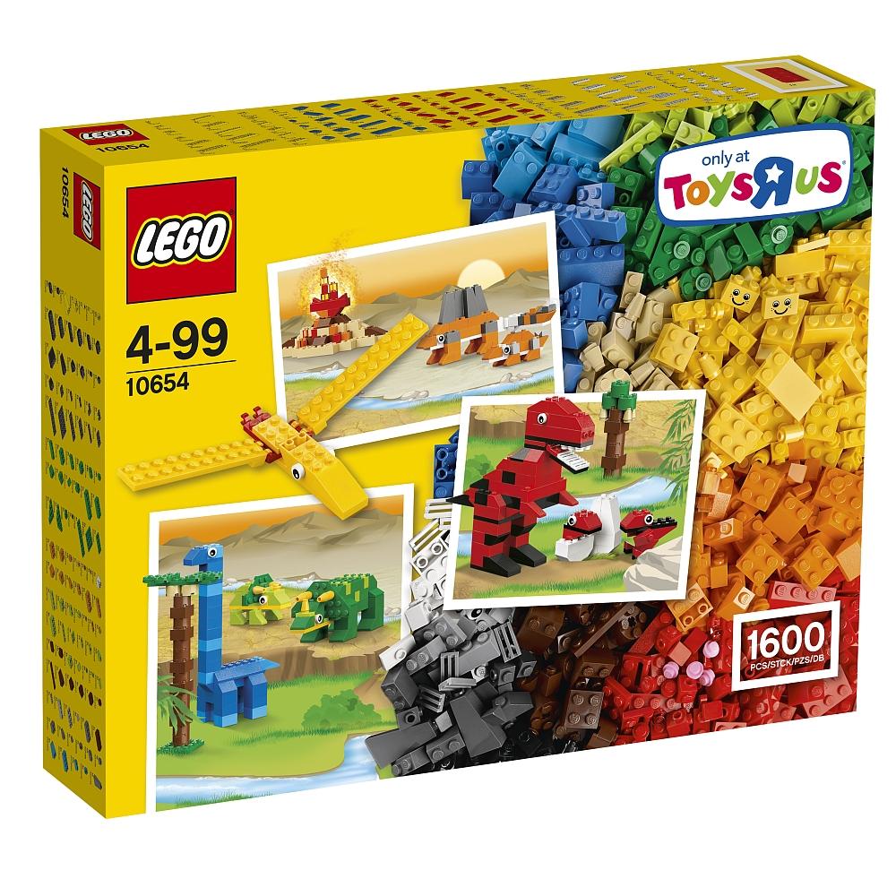 [ToysRUs] gültig von Mo. 29.05 - So. 04.06.2017, LEGO Classic 10654 Riesengroße Bausteine-Box, 1600 Steine für 39,98 € (vorher noch im Rewe die 25€ ToysRUs-Guthabenkarte für 20 Euro holen)
