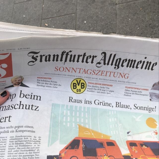 [Lokal Kaiserslautern] FAZ Sonntagszeitung gratis
