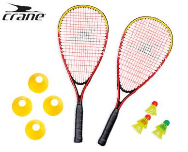 [offline] crane Turbo Badminton Set | Federball | Aldi Süd