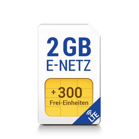 1&1 All-Net & Surf 2 GB für 6,99€/Monat PERMANENTE GRUNDGEBÜHR (E-Netz mit LTE oder D-Netz jeweils 21,6 Mbit/s wählbar)