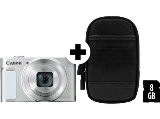 CANON Powershot SX620 HS Digitalkamera + 8GB Speicher für 179,00 (Farben: rot, schwarz + silber)