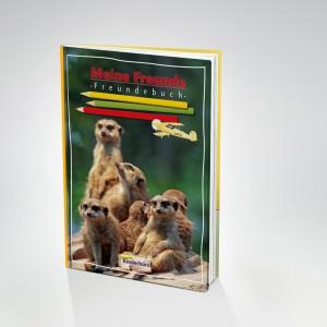 Gratisartikel für Kinder / Schulkinder - z.B. Freundebuch, Vokabelheft, Hausaufgabenheft, Ordner