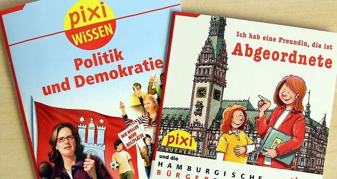 gratis Pixi-Bücher zum Thema Politik