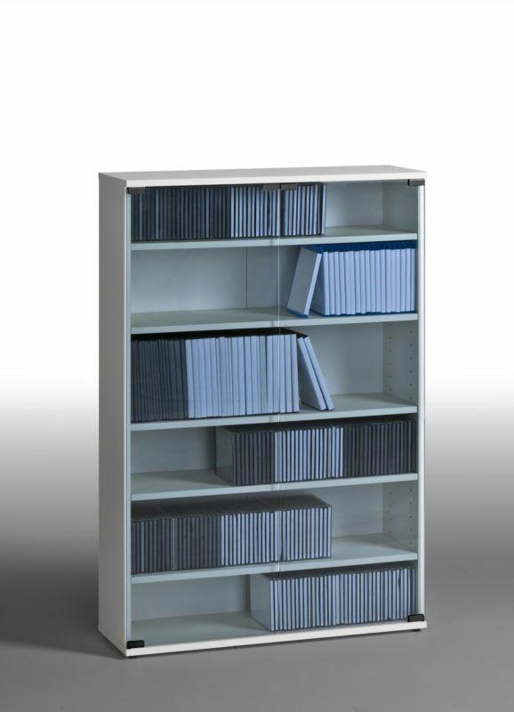 EBAY: Medienregal Weiß f. CD's, DVD's oder Games  94,05€ statt Otto 149,90€