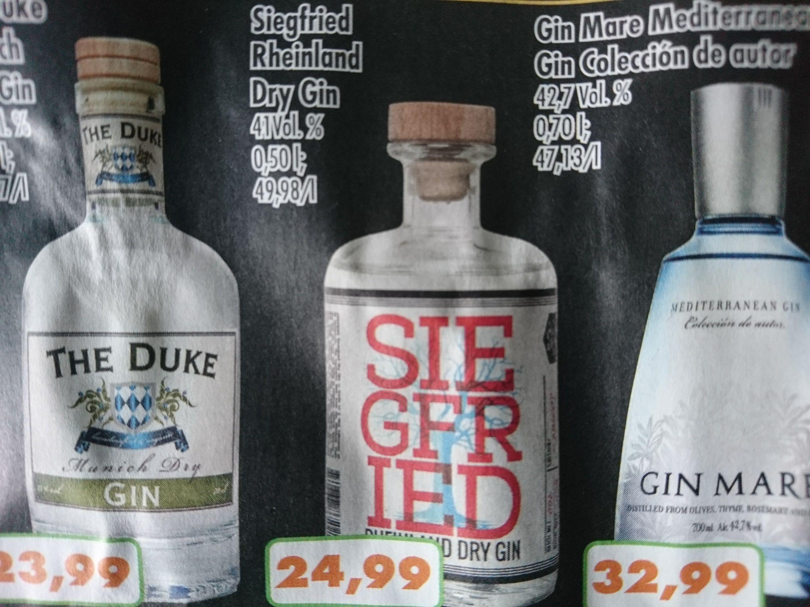 Regional NRW: Siegfried Gin bei Trinke&Spare