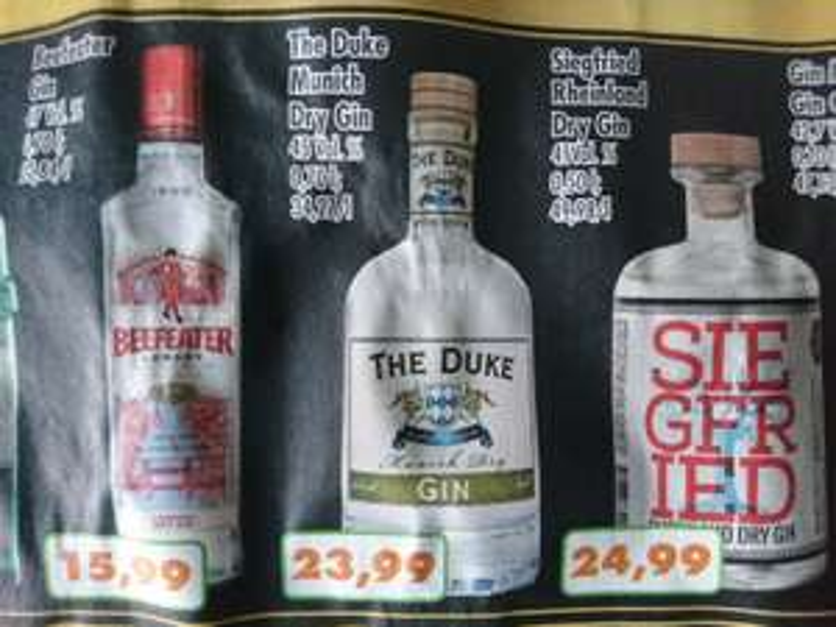 Regional NRW: The Duke Gin bei Trinke&Spare