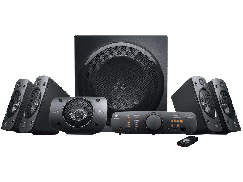 [Media Markt] Logitech Z906 3D-Stereo-Lautsprecher THX (Dolby 5.1-Surround-Sound und 500 Watt) für 189€ (PVG 249€)