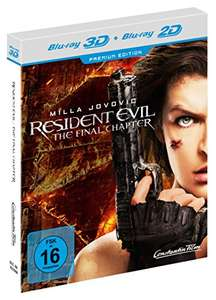 Resident Evil: The Final Chapter (+ Blu-ray) [Limited Edition]  @ Amazon